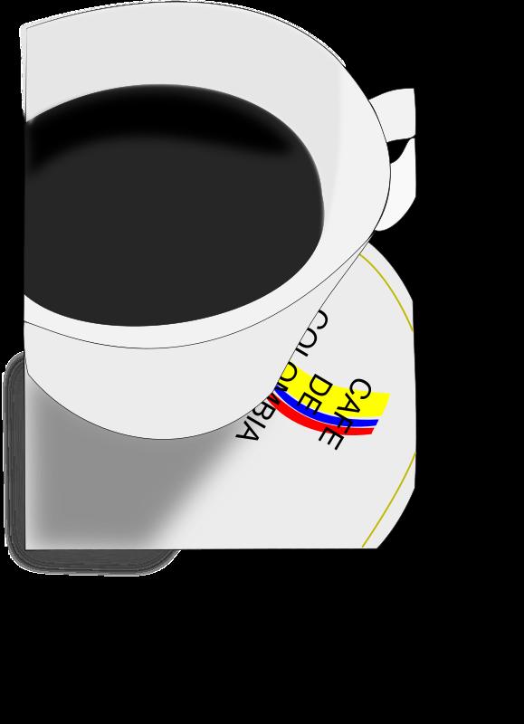 Clipart - Tasa de cafe