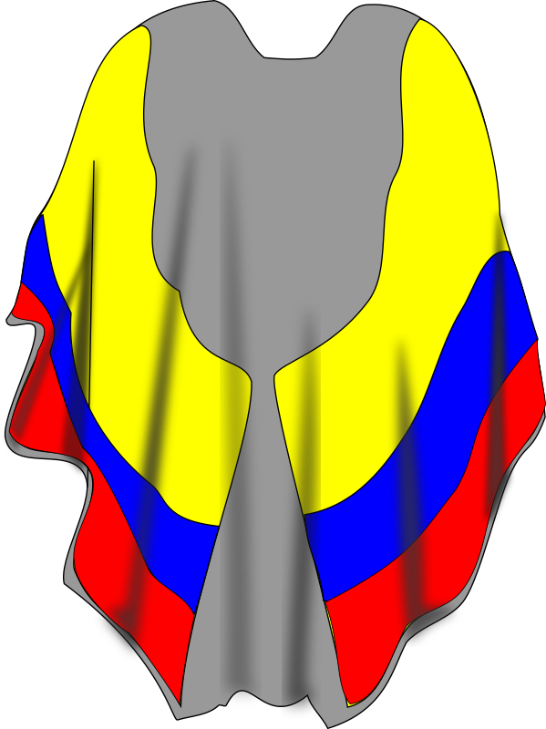 ruana by herecticor - A ruana or type of poncho from Colombia.
