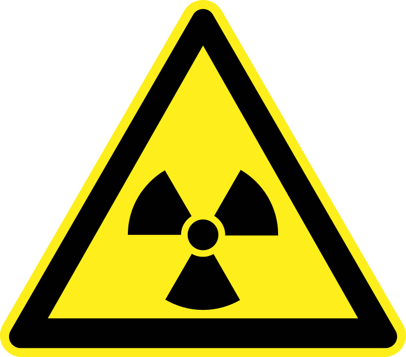Signs Hazard Warning by h0us3s - Hazard warning sign - radiactivity.