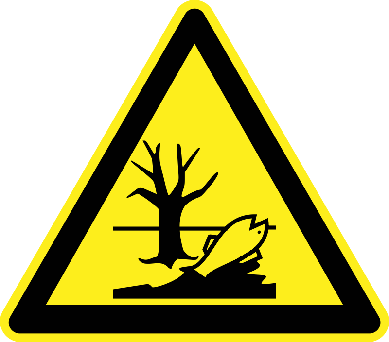Signs Hazard Warning by h0us3s - Hazard warning sign - polluted site.