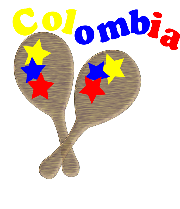 maracas by oscarinem - Colombian paddles for showing your pride