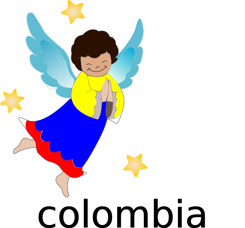 angel by aalleejjoo - angel, clip art, clipart, colombia,
