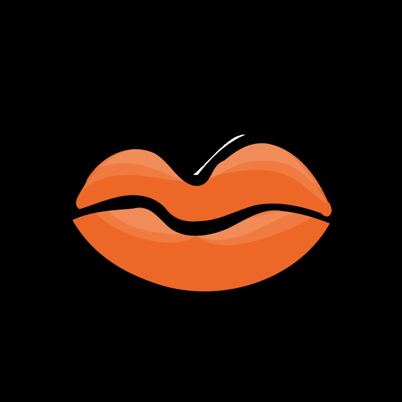 clipart closed mouth lipstick clip art free lipstick clip art black and white