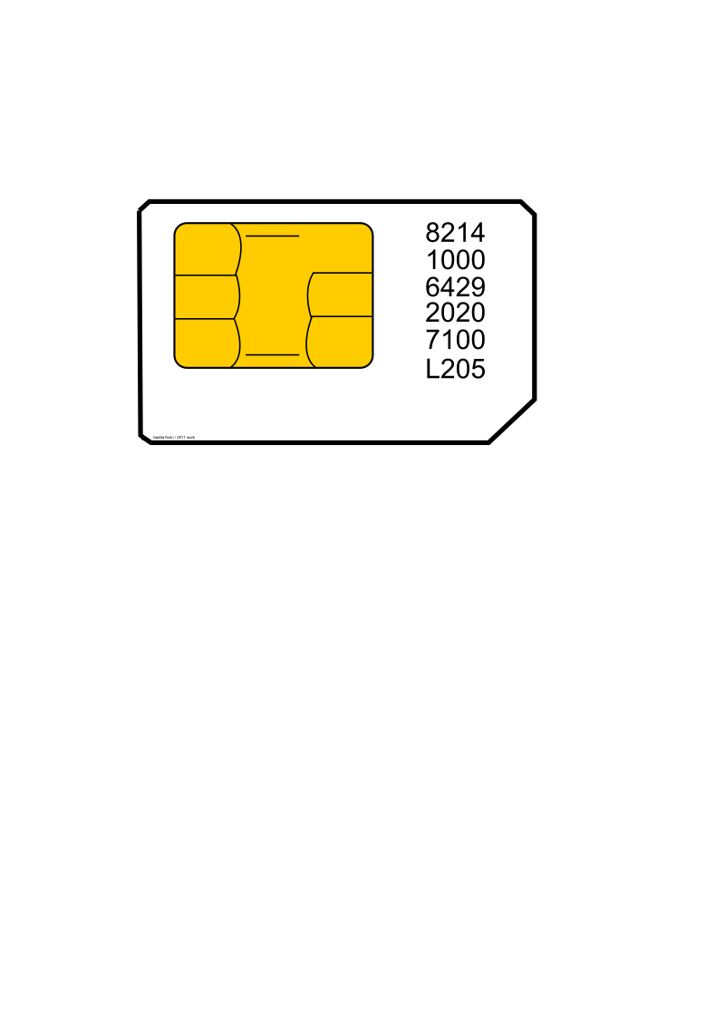 Sim card by baditaflorin