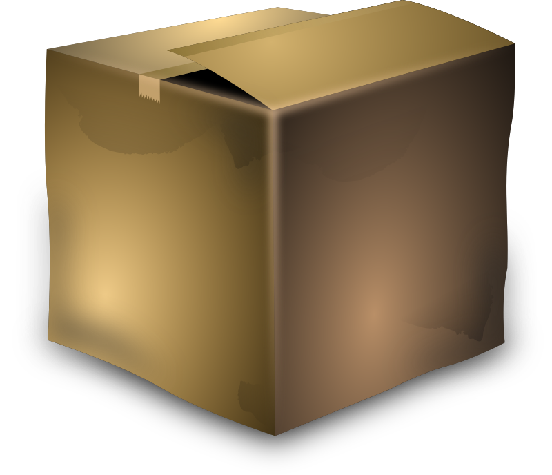 Cardboard Box by lekamie - cardboard box