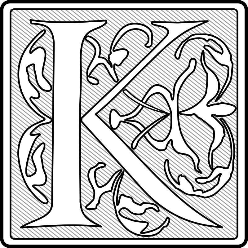 Capital Letter 'K' (Initial) by boobaloo