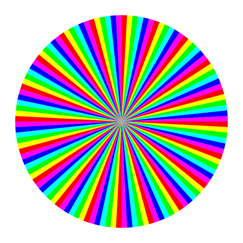 6 color 120gon by 10binary - This gets more complicated the more sides there are!