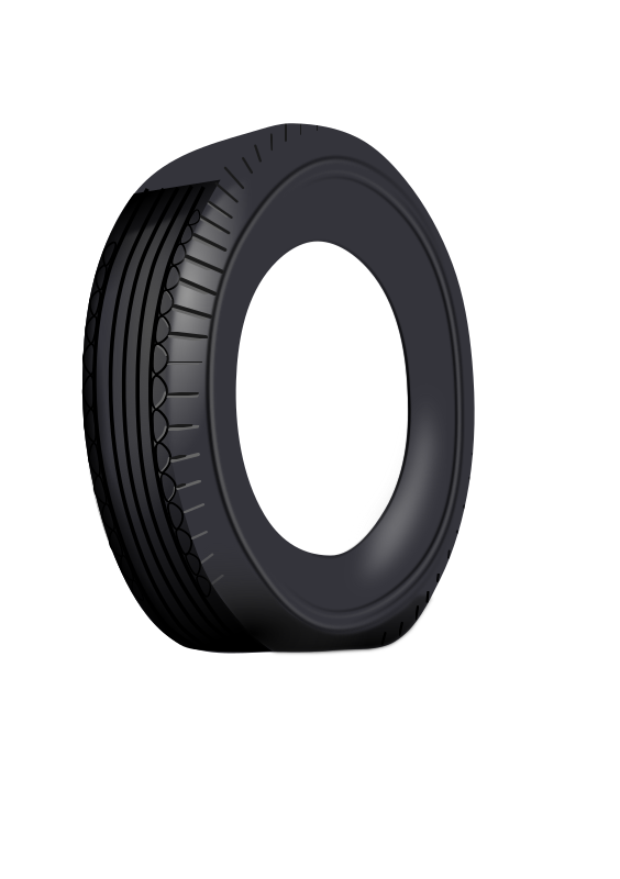 Duesi Tire by Rents - A round tire