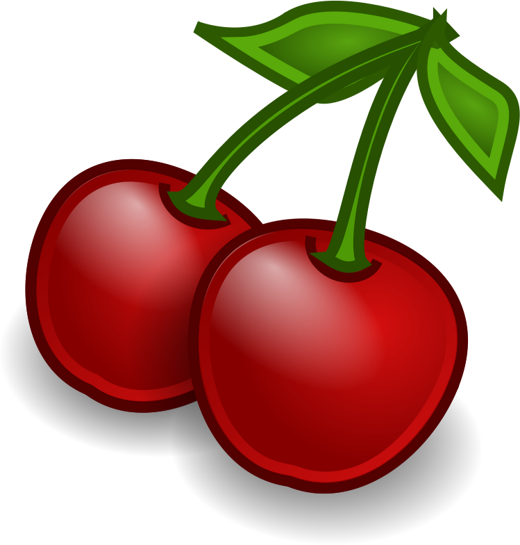 fruit-cherries by Rocket000 - Tango-styled cherries icon.