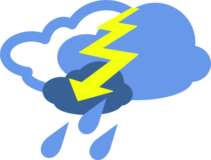Clipart - simple weather symbols