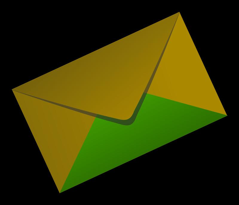 Clipart Cover Envelop