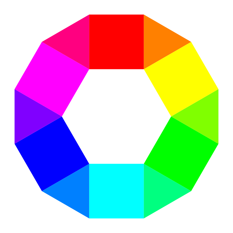 6 hexagons 6 triangles by 10binary