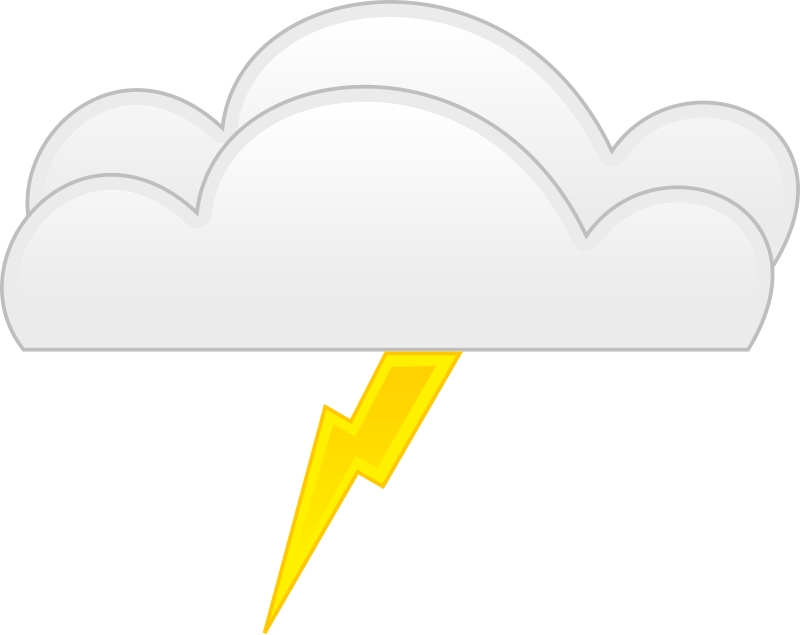 overcloud thunder by spite - for weather application or map