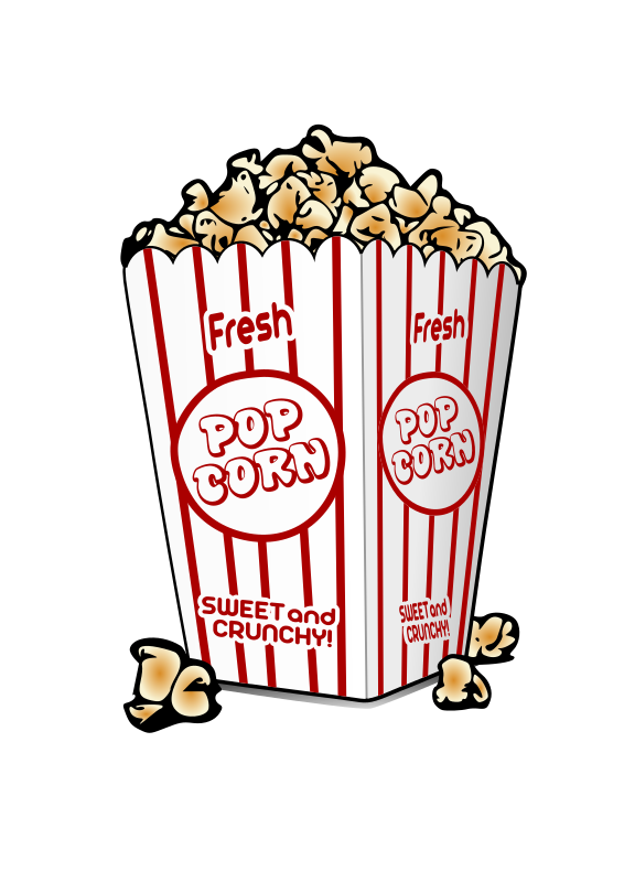 clipart popcorn rh openclipart org
