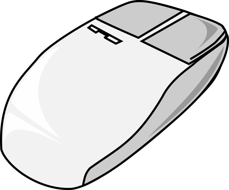 Mouse (computer) by nicubunu - The widest used input device: a mouse