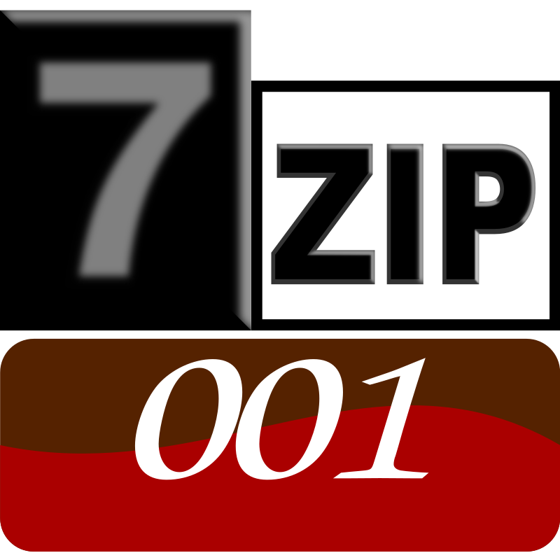 7zipClassic-001 by kg - 7-Zip is a file archiver with a high compression ratio and 7-Zip is open sour