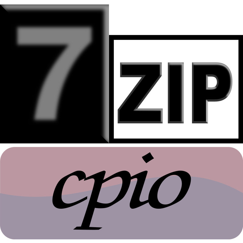 7zipClassic-cpio by kg - 7-Zip is a file archiver with a high compression ratio and 7-Zi