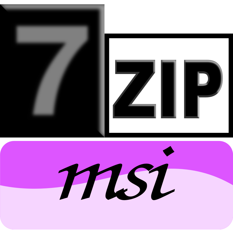 7zipClassic-msi by kg - 7-Zip is a file archiver with a high compression ratio and 7-Zip is open source software that supports (reads and writes) many poplar archive formats (zip, rar, 7zip, iso). The current recommended version is 7-Zip 9.22 beta.