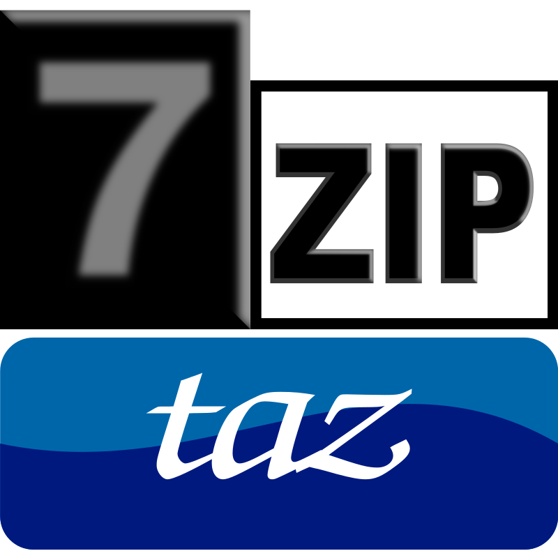 7zipClassic-taz by kg - 7-Zip is a file archiver with a high compression ratio and 7-Zip is open sourc