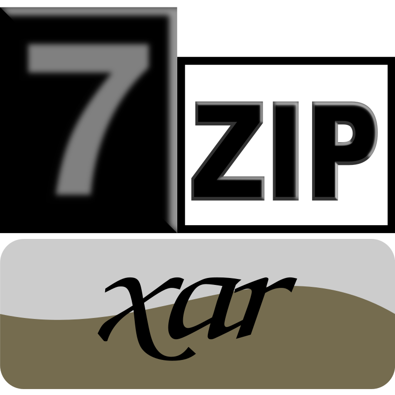 7zip Classic xar by kg - 7-Zip is a file archiver with a high compression ratio and 7-Zip is open source software that supports (reads and writes) many poplar archive formats (zip, rar, 7zip, iso). The current recommended version is 7-Zip 9.22 beta.