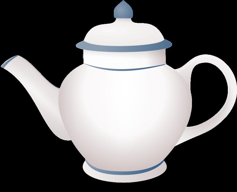 Clipart - teapot