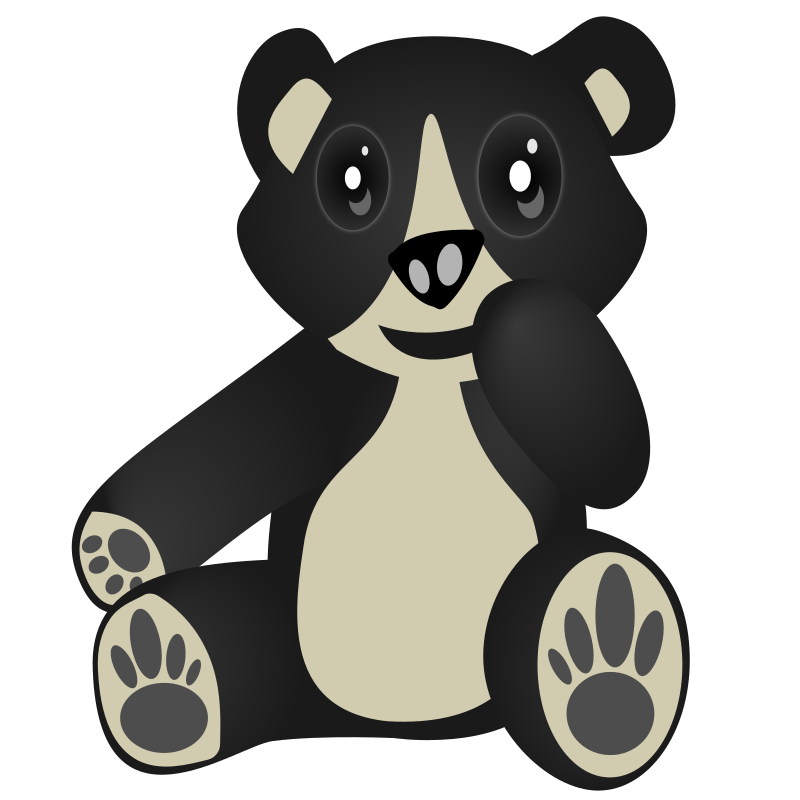 "Oso / Bear by tatica - This is a bear named ""Oso Frontino"" in Venezuela. Is in endangered specie so consider this as a reminder that we need to preserve our world :)"
