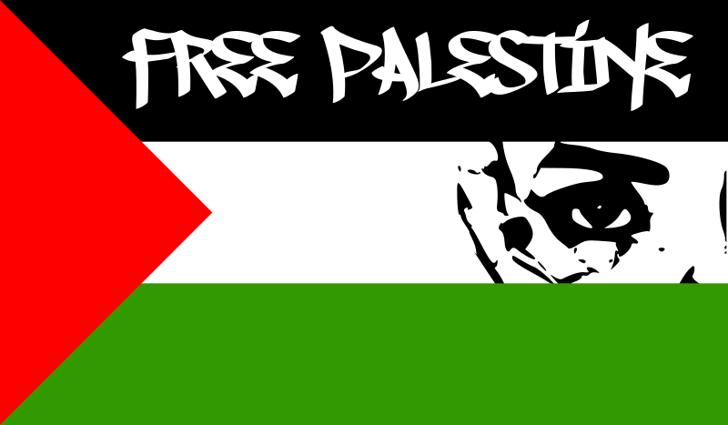 FREE PALESTINE by worker