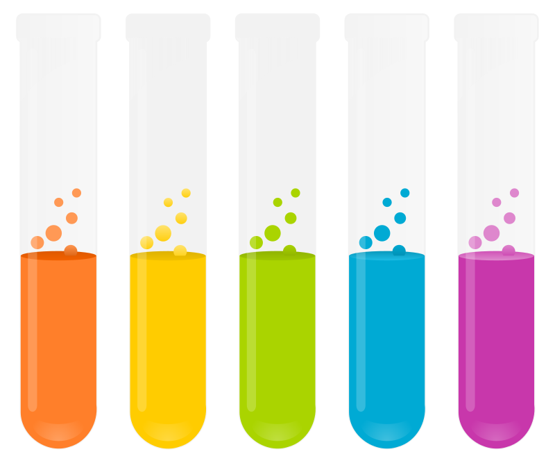 Test tubes by i-art - Colored test tubes