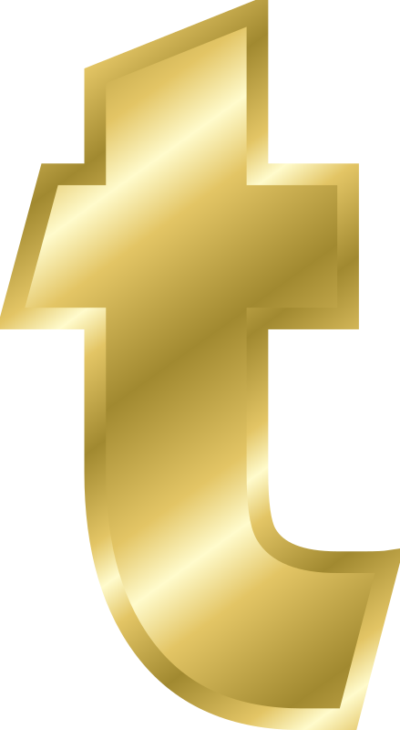 "Effect Letters alphabet gold by Chrisdesign - Note! Filling and outline were copied by ""style copy"" by the letter A. Thus if this is changed, all marked elements change the"