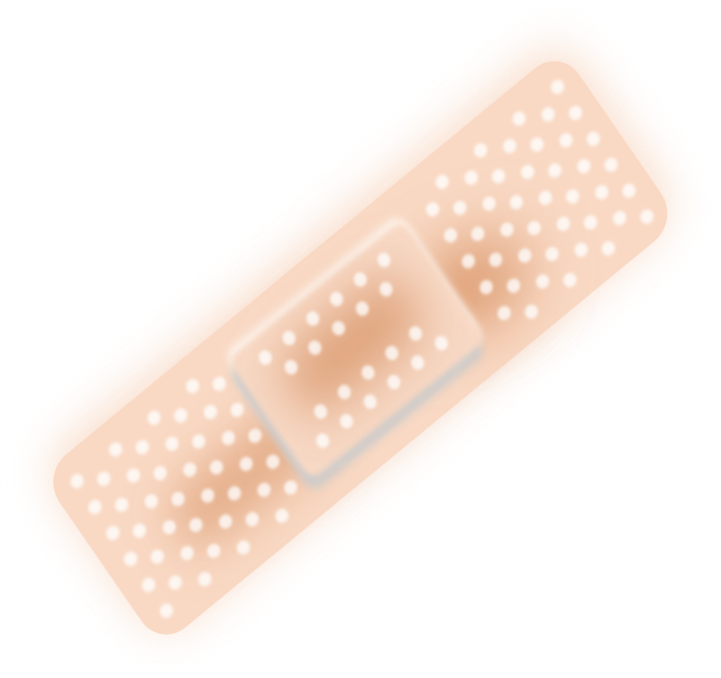 Plaster bandage - Bandaid by gblas.ivan - wound plaster