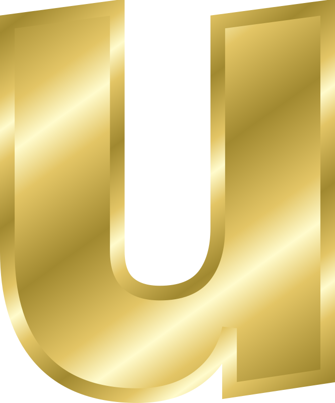 "Effect Letters alphabet gold by Chrisdesign - Note! Filling and outline were copied by ""style copy"" by the letter A. Thus if this is changed, all marked elements change thems"