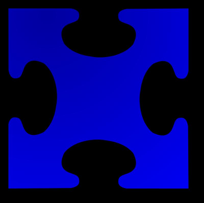 Jigsaw Puzzle Piece Clipart Jigsaw Puzzle Piece Blue