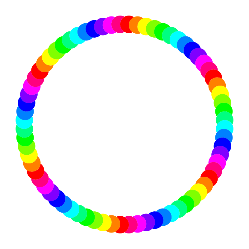 72 circle ring by 10binary