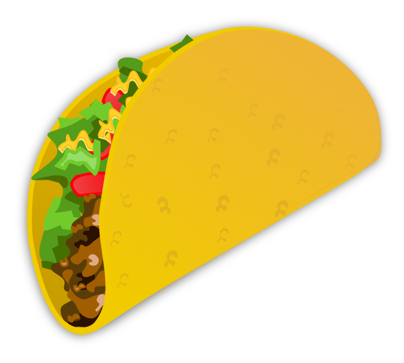 Clipart - Taco