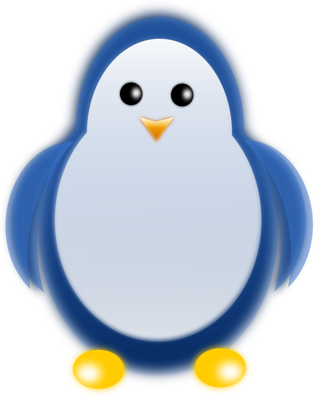 Penguin by gblas.ivan - A fuzzy penguin looking right at you.