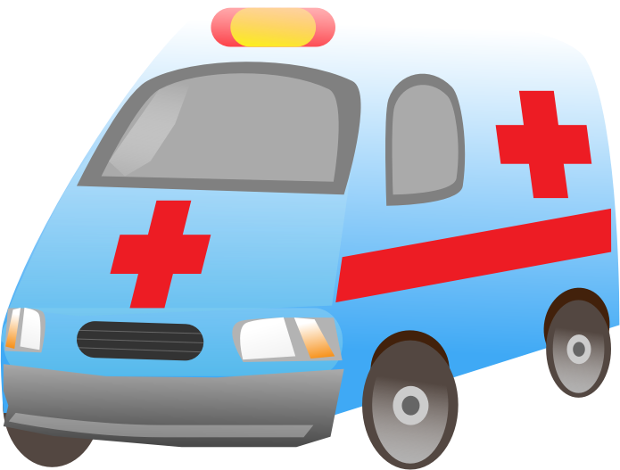 Ambulance by Angrydrummer - A clipart of an ambulance.