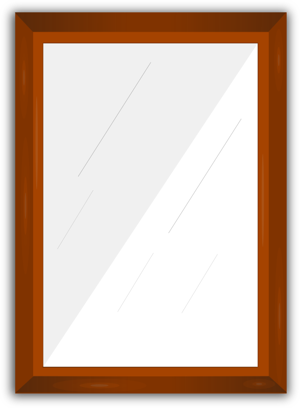 Mirror Frame by gsagri04 - Wooden mirror Frame