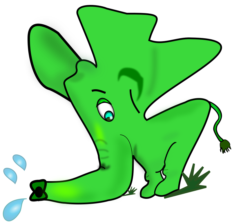 microsoft clip art elephant - photo #17