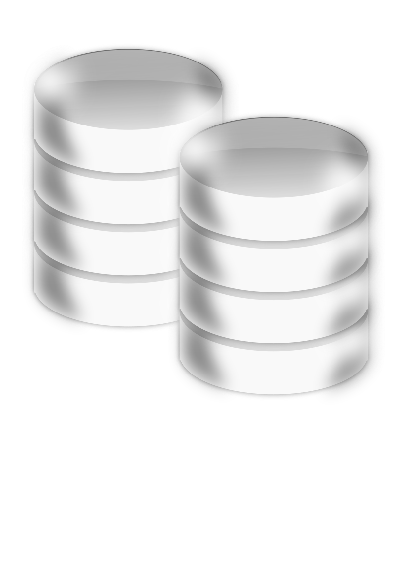 dbms by gblas.ivan - database or hard drive icons