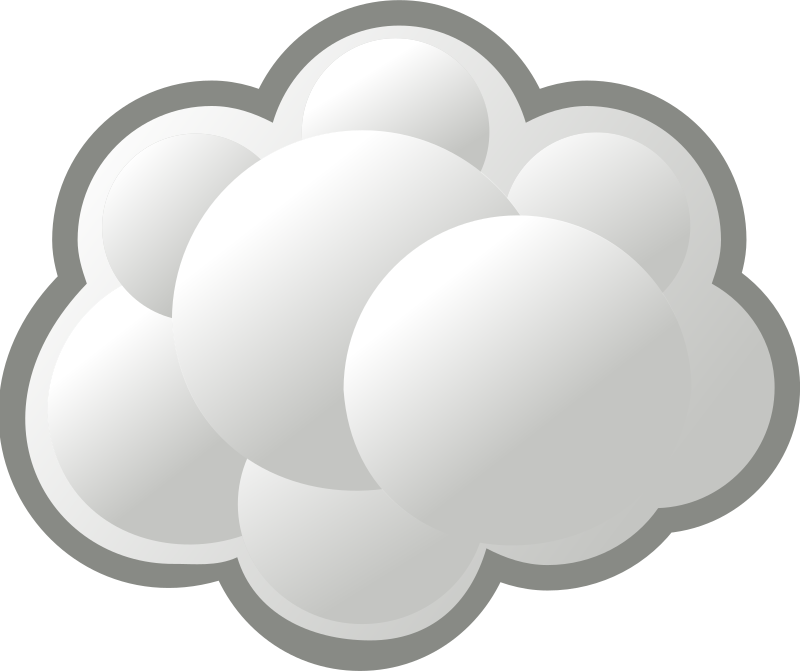Internet cloud by b.gaultier - An internet cloud clipart influenced by Tango project guidelines