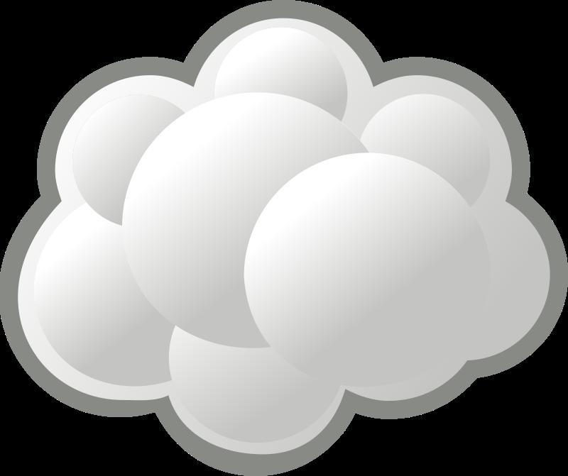 Internet cloud by b ga...