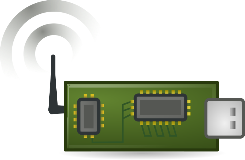 Wireless sensor by b.gaultier - A wireless sensor clipart influenced by Tango project guidelines
