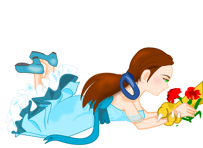 Beauty and the Beast by helisdf - girl from Beauty and the Beast
