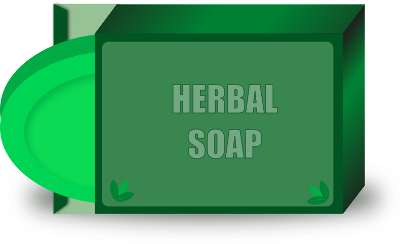 Herbal Soap by gsagri04 - Herbal Soap illustration drawn using Inkscape