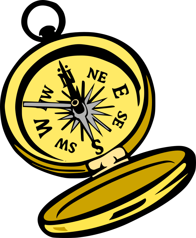 Compass by liftarn - Traced from an image found at http://www.wpclipart.com/tools/miscellaneous/
