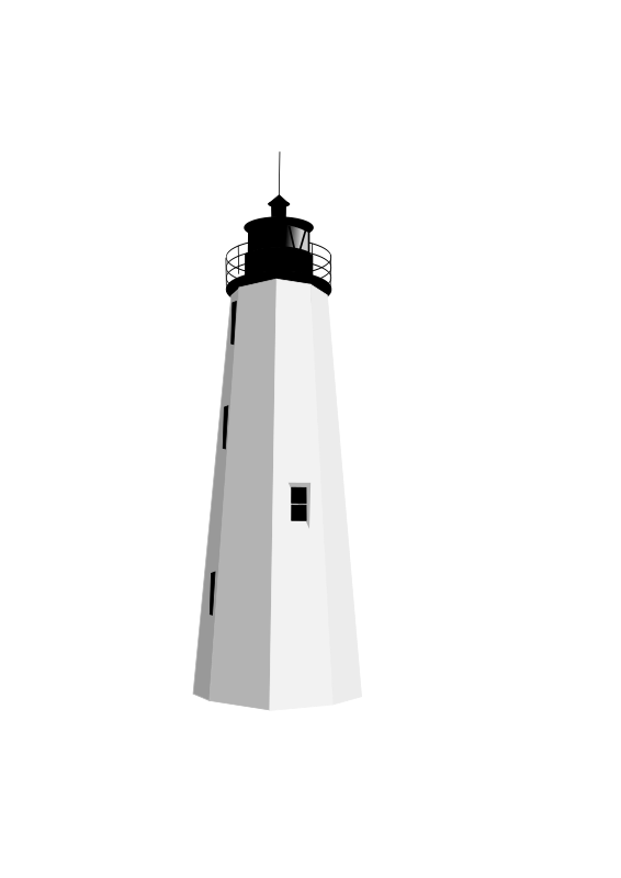 lighthouse by dfunk - The New Point Comfort lighthouse
