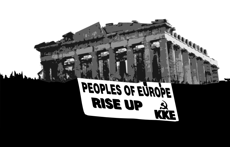 peoples of europe rise up kke by worker