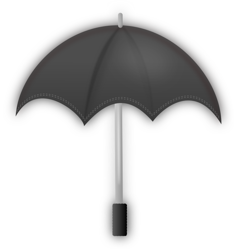 Umbrella (Black) by gsagri04