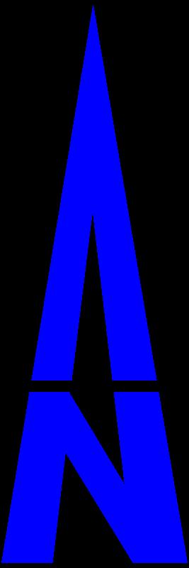 Clipart - north arrow orienteering