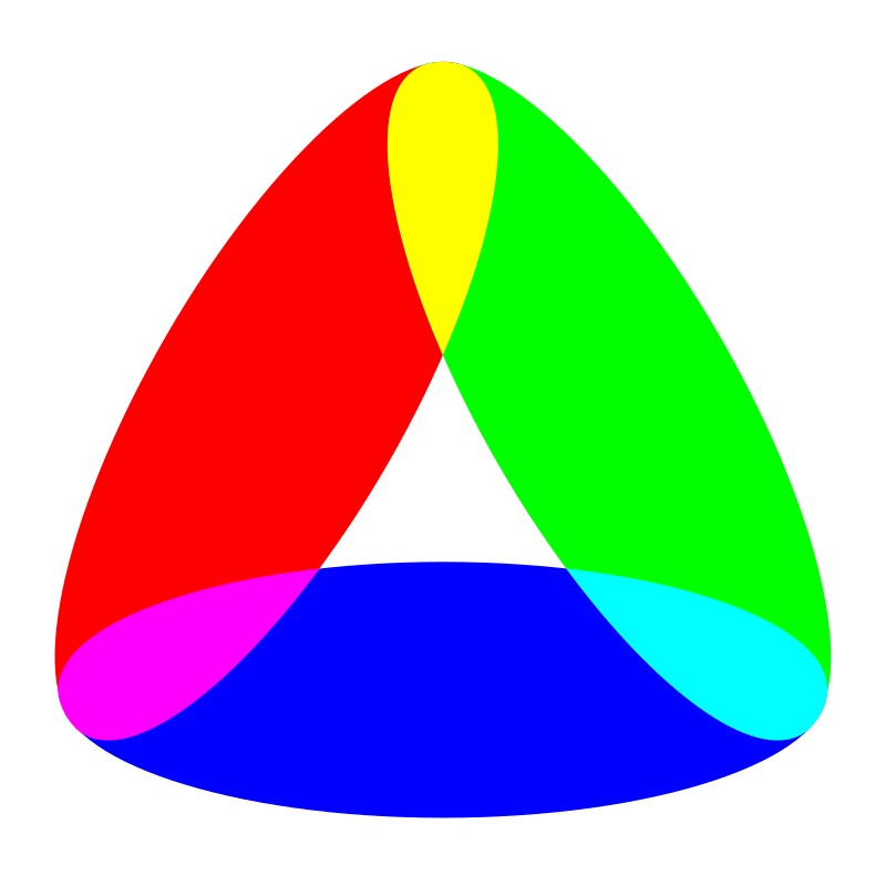 3 to 1 ellipse color mix by 10binary - 3 to 1 ellipse color mix